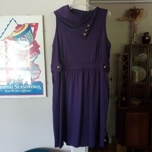 Dresses & Skirts - Coach Tour A-Line Dress in Violet